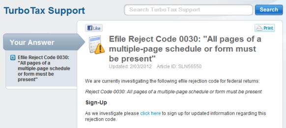 Thanks to TurboTax – IRS Reject my tax return | JPWhite's Tech Blog